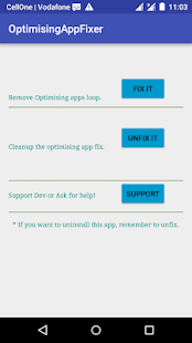 Optimizing Apps fix ROOT preview 1