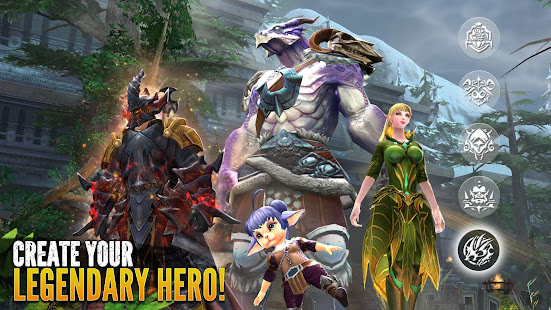 Order amp Chaos 2 3D MMO RPG preview 1