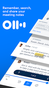 Otter Meeting Note Transcription Voice Recorder 2.1.59-3066 preview 1