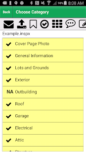 Palm-Tech Home Inspection Software 8.16a preview 1