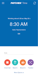 Paychex Time 4.4.1 preview 2