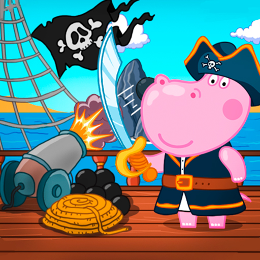 Pirate Games for Kids logo