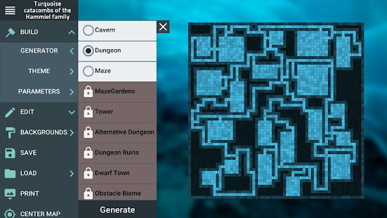 ProDnD Tabletop Game Manager and Dungeon Generator 2.5.70 preview 1