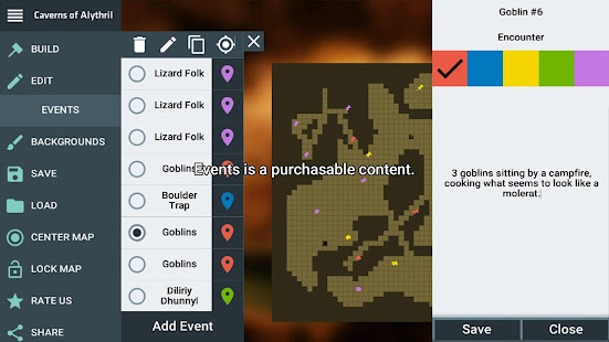 ProDnD Tabletop Game Manager and Dungeon Generator 2.5.70 preview 2