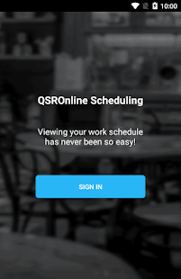 QSROnline Scheduling 1.5.7 preview 1