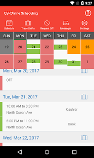 QSROnline Scheduling 1.5.7 preview 2