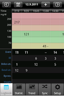 SiDiary Diabetes Management 1.45 preview 1