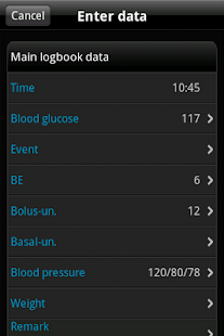 SiDiary Diabetes Management 1.45 preview 2