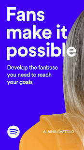 Spotify for Artists preview 1