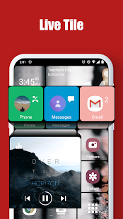 Square Home – Launcher Windows style preview 2