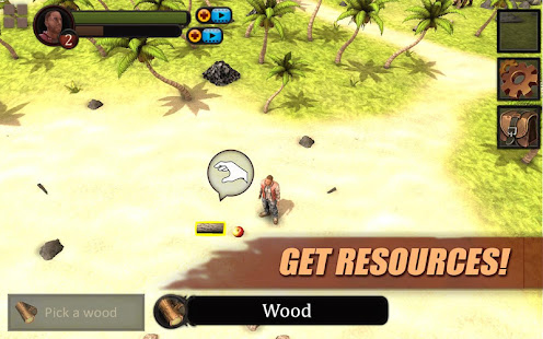 Survival Game Lost Island 3D 1000 preview 1