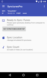 Sync iTunes to android – Pro preview 1