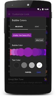 Textra SMS 4.43 preview 2