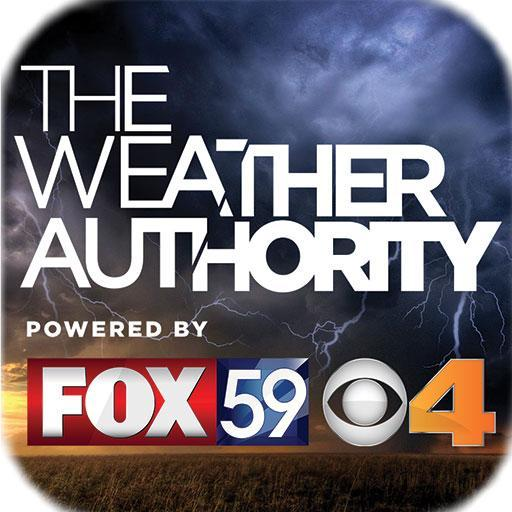 The Indy Weather Authority logo