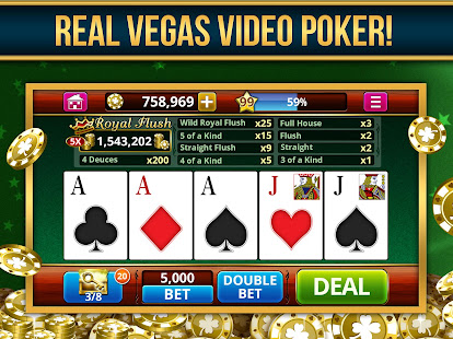 VIDEO POKER OFFLINE FREE 1.133 preview 1