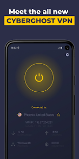 VPN by CyberGhost – Fast amp Secure WiFi Protection 8.5.1.377 preview 1