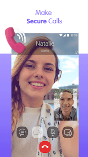 Viber Messenger – Free Video Calls amp Group Chats preview 2