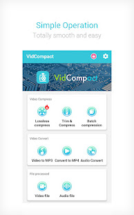 Video to MP3 Converter amp Compressor – VidCompact 3.6.1 preview 1