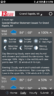 WZZM 13 Weather preview 2