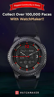 Watch Face -WatchMaker Premium for Android Wear OS preview 1