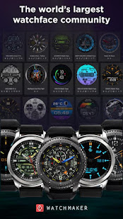 Watch Face -WatchMaker Premium for Android Wear OS preview 2