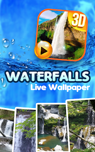 Waterfall Sound Live Wallpaper 9.1 preview 1