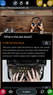 Website Builder for Android 2.0.32 preview 2