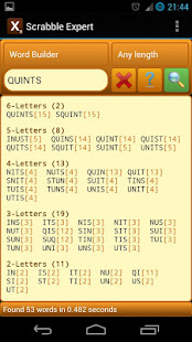 Word Expert for SCRABBLE 4.8.2 preview 1