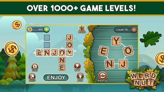 Word Nut Word Puzzle Games amp Crosswords 1.168 preview 1