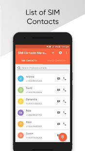 SIM Contacts Manager 1.2.4 preview 1