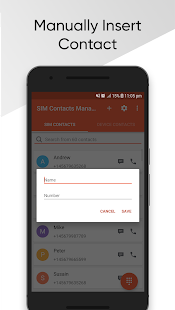 SIM Contacts Manager 1.2.4 preview 2