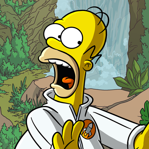 The Simpsons™:  Tapped Out logo